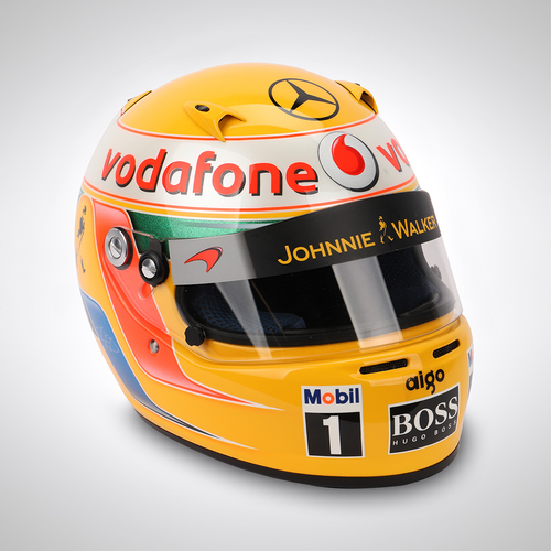 Photo of Lewis Hamilton 2010 1:1 Replica Helmet