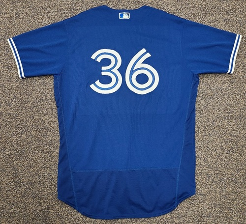 Photo of Authenticated Team Issued 2020 Spring Training Jersey: #36 AJ Cole. Size 48