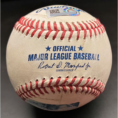 Photo of Game-Used Baseball: Casey Mize Detroit Tigers Home Debut Pitched Ball (MLB AUTHENTICATED)
