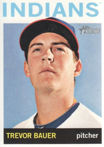 Photo of 2013 Topps Heritage #321 Trevor Bauer