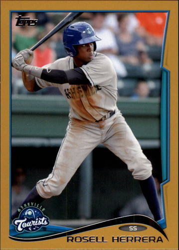 Photo of 2014 Topps Pro Debut Gold #168 Rosell Herrera