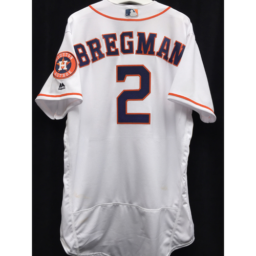 watch efd8d 1eb0c MLB Auctions | #2 Alex Bregman Major League Debut Game-Used ...
