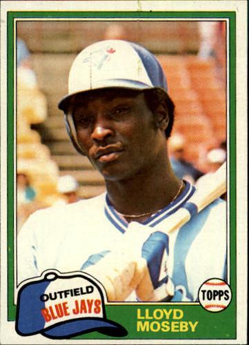 Photo of 1981 Topps #643 Lloyd Moseby RC