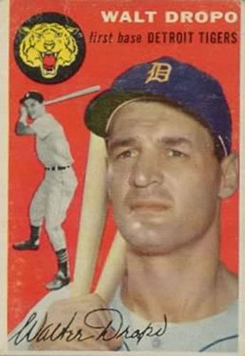Photo of 1954 Topps #18 Walt Dropo