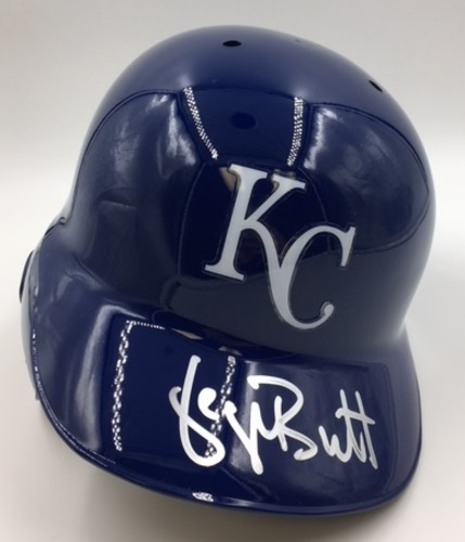 Photo of George Brett Autographed Royals Batting Helmet