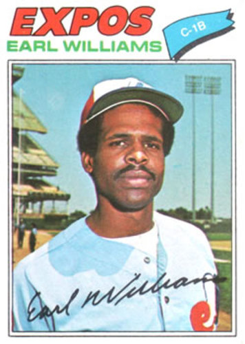 Photo of 1977 Topps #223 Earl Williams