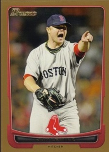 Photo of 2012 Bowman Gold #46 Jon Lester