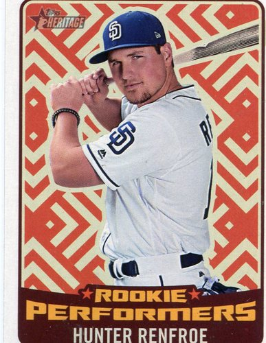 Photo of 2017 Topps Heritage Rookie Preformers #RPHR Hunter Renfroe