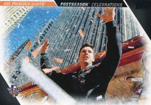 Photo of 2017 Topps Update Postseason Celebration #PC11 San Francisco Giants