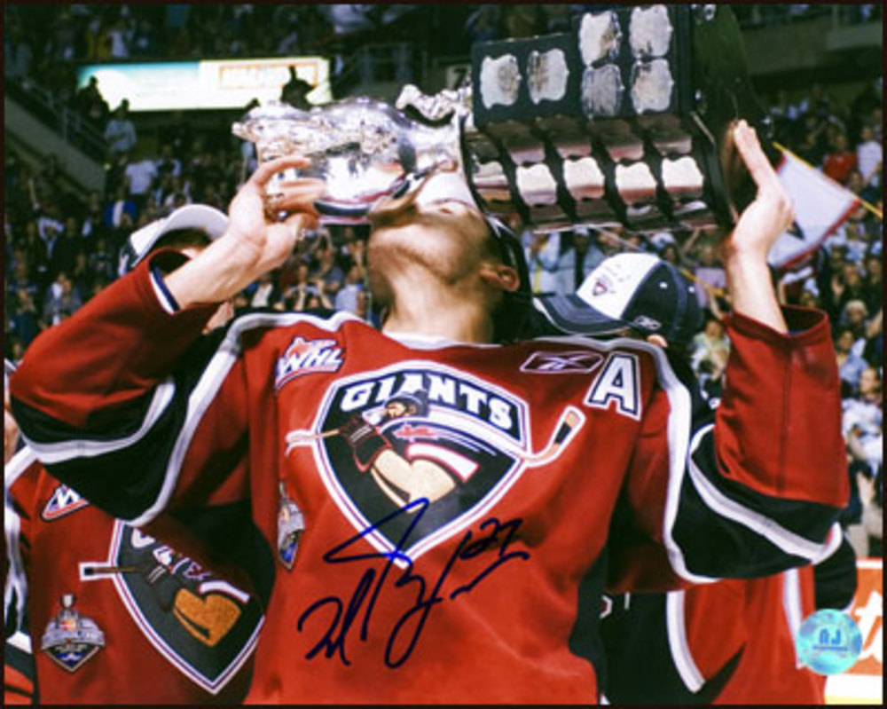 MILAN LUCIC Vancouver Giants SIGNED 8x10 Photo CHL MVP Photo *Boston Bruins*