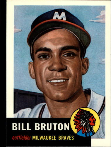 Photo of 1991 Topps Archives 1953 #214 Bill Bruton