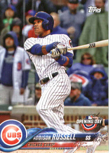 Photo of 2018 Topps Opening Day #153 Addison Russell