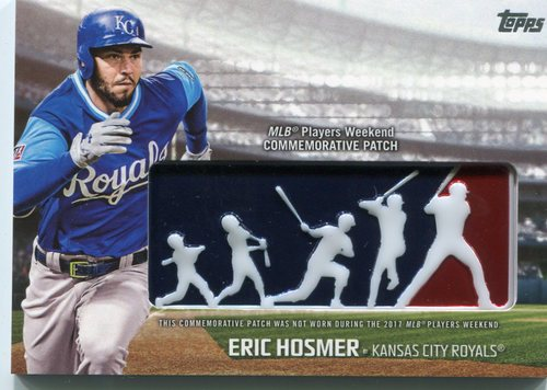 Photo of 2018 Topps Players Weekend Patches #PWPEH Eric Hosmer