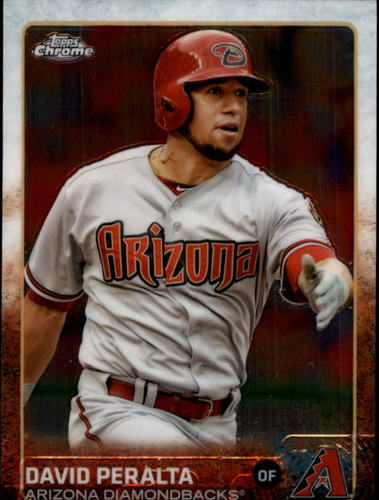 Photo of 2015 Topps Chrome #45 David Peralta
