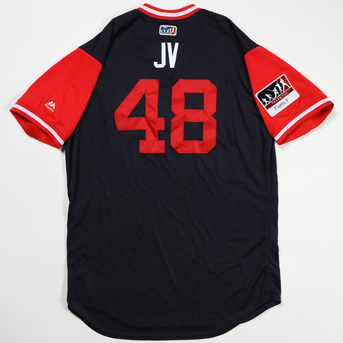 "Photo of Jonny ""JV"" Venters Atlanta Braves Game-Used Jersey 2018 Players' Weekend Jersey"