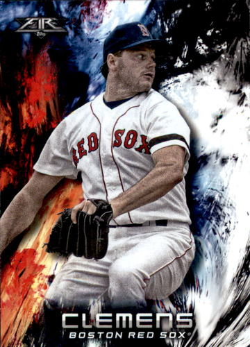 Photo of 2018 Topps Fire #198 Roger Clemens