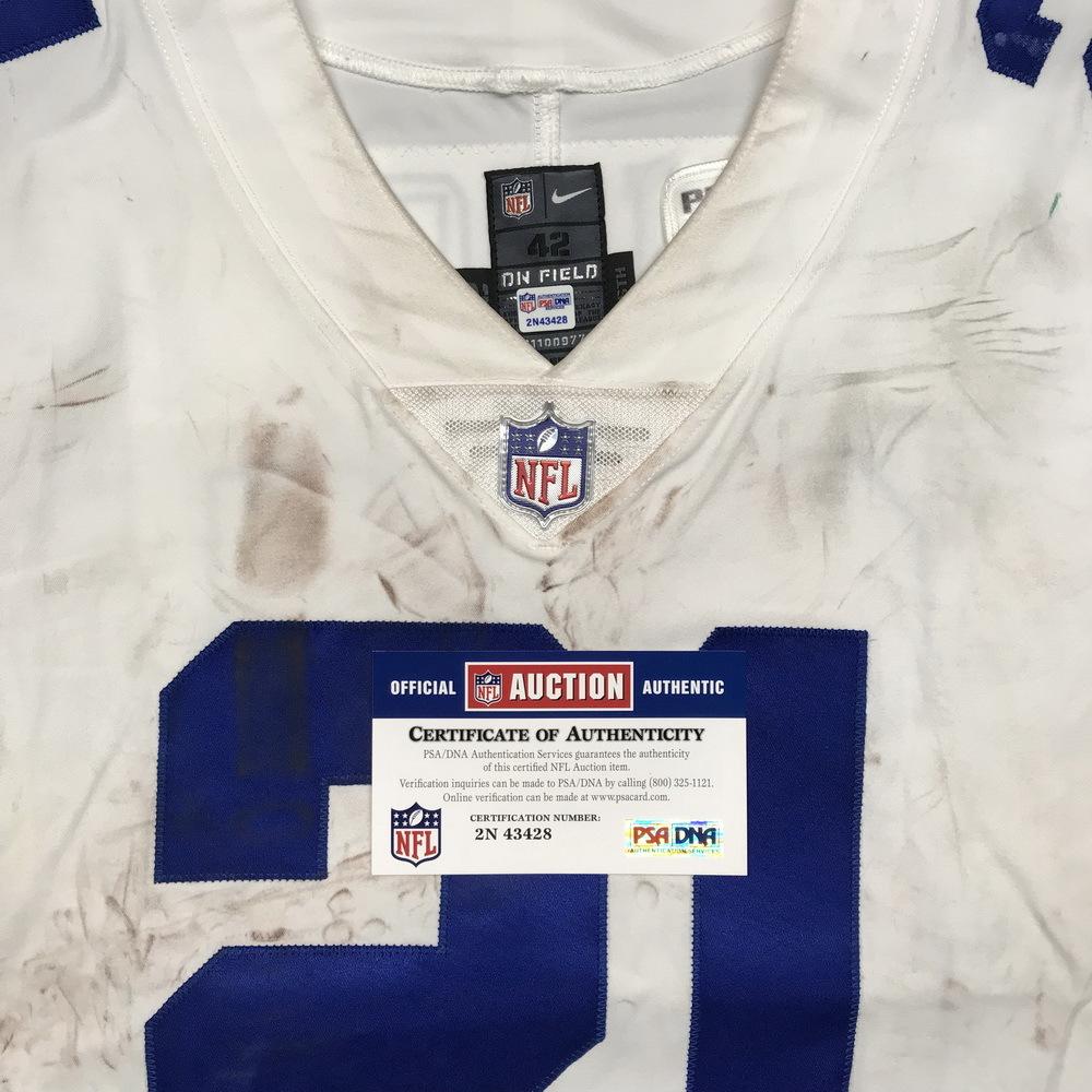 more photos 4981a 03998 NFL Auction | Crucial Catch - Cowboys Ezekiel Elliott game ...