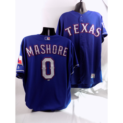 Photo of 6/22/18 - Game-Used Blue Jersey - Justin Mashore