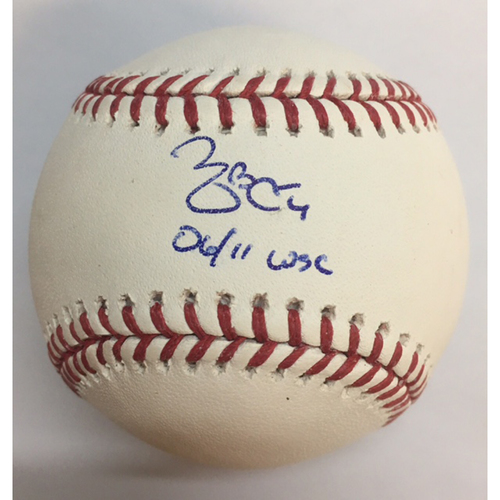 "Photo of Yadier Molina ""06/11 WSC"" Autographed Baseball"