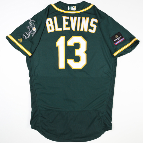 Photo of 2019 Japan Opening Day Series - Game Used Jersey - Jerry Blevins, Oakland Athletics at Nippon Ham Fighters -3/17/2019