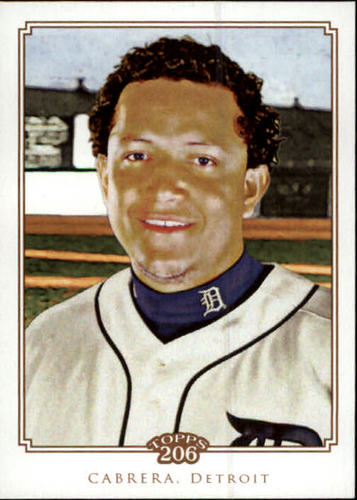 Photo of 2010 Topps 206 #269 Miguel Cabrera