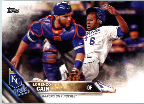 Photo of 2016 Topps #696A Lorenzo Cain