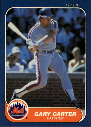 Photo of 1986 Fleer #76 Gary Carter