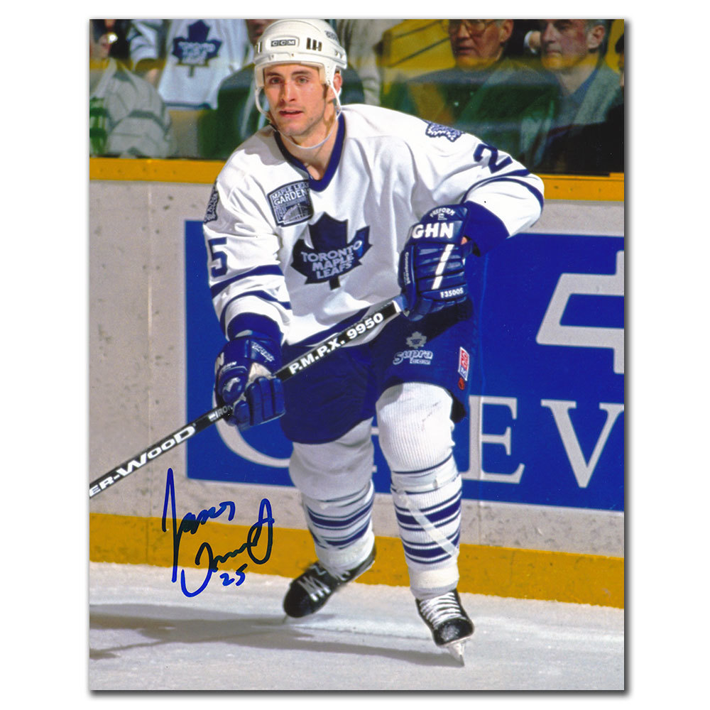 Jason Smith Toronto Maple Leafs Autographed 8x10