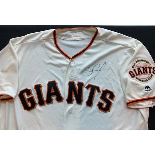 Giants End of Season Auction: Pablo Sandoval Signed Jersey