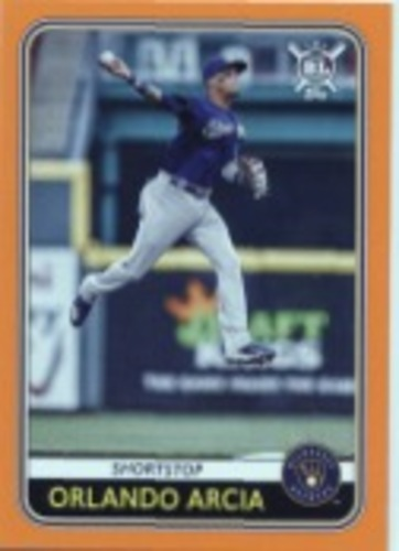 Photo of 2020 Topps Big League Orange #164 Orlando Arcia
