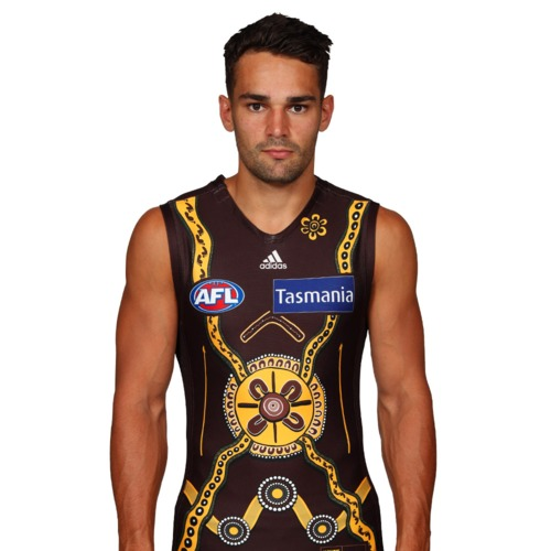 Photo of #33 Matthew Walker Signed & Match Worn Indigenous Guernsey