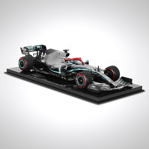 Photo of Lewis Hamilton 1:8 Scale Model Mercedes-AMG F1 W10 EQ Power+ 2019 Monaco Edition