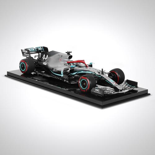 Photo of Lewis Hamilton 1:8 Scale Model Mercedes-AMG F1 W10 EQ Power+ 2019 Monaco Edition