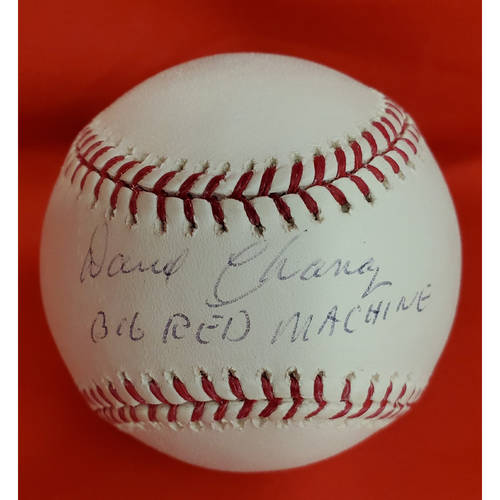 Photo of Darrel Chaney Autographed Baseball with Inscription