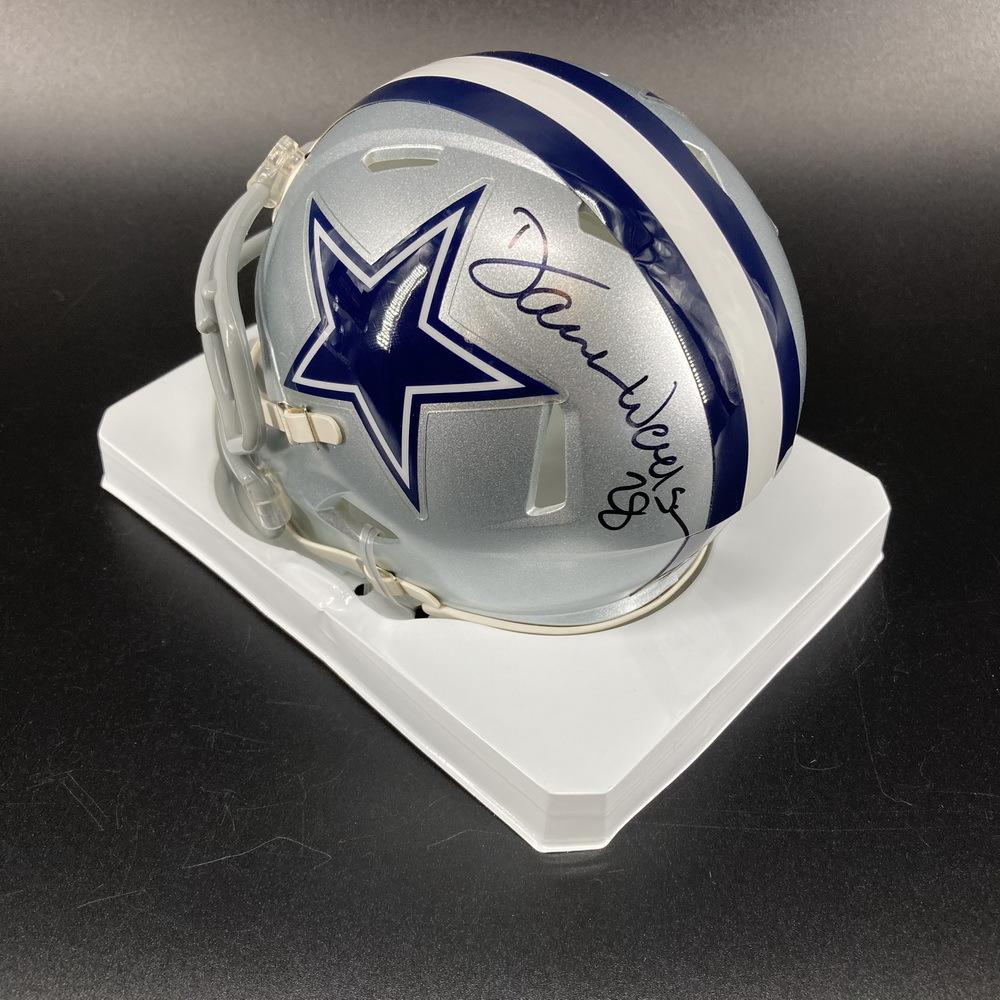Legends - Cowboys Darren Woodson Signed Mini Helmet