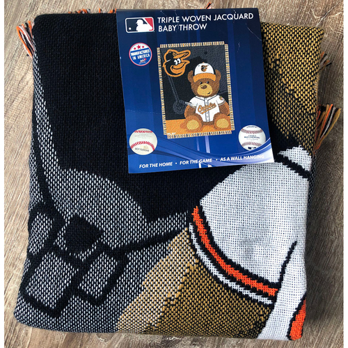 Photo of UMPS CARE AUCTION: Baltimore Orioles Throw Blanket