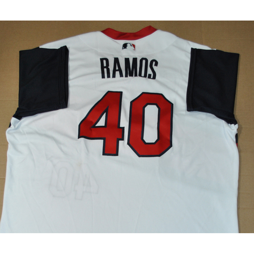 Photo of Game-used Jersey - 2021 Little League Classic - Los Angeles Angels vs. Cleveland Indians - 8/22/2021 - Great Lakes, Wilson Ramos #40