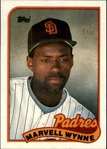 Photo of 1989 Topps #353 Marvell Wynne