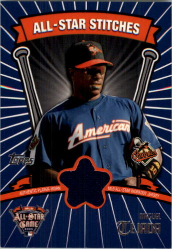 Photo of 2005 Topps Update All-Star Stitches #MT Miguel Tejada B