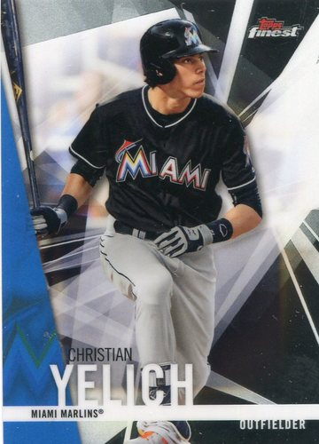 Photo of 2017 Finest #21 Christian Yelich