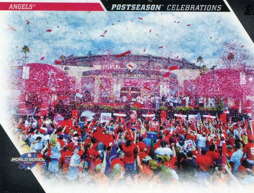 Photo of 2017 Topps Update Postseason Celebration #PC18 Los Angeles Angels