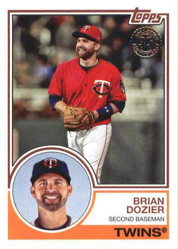 Photo of 2018 Topps '83 Topps #8326 Brian Dozier