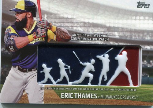 Photo of 2018 Topps Players Weekend Patches #PWPET Eric Thames