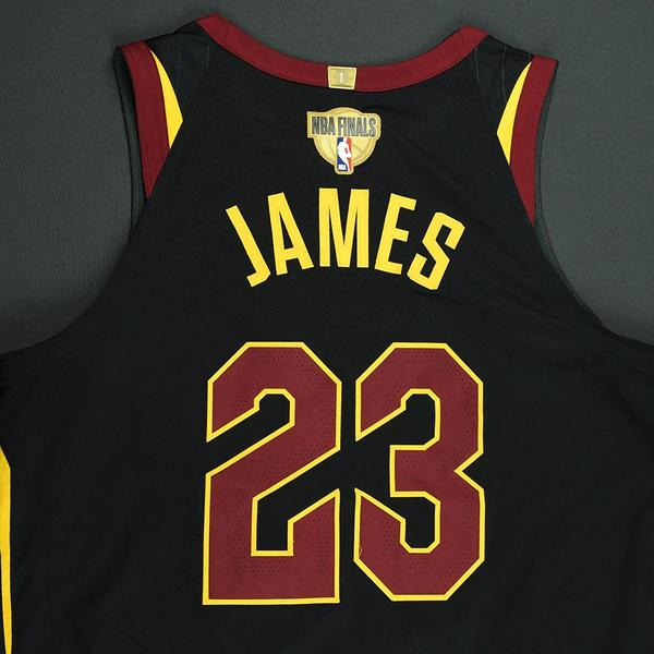new style 222e3 f67fa lebron james nba finals jersey