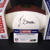 NFL - Ravens Jaleel Scott Signed Panel Ball