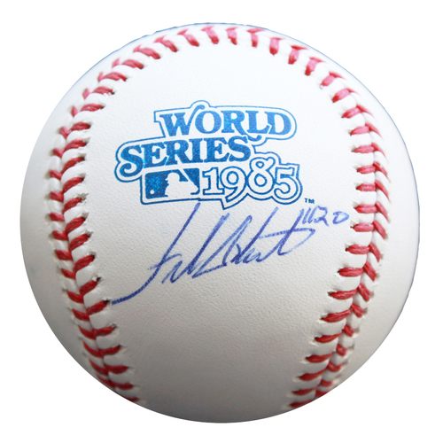 Photo of Autographed 1985 World Series Baseball: Frank White