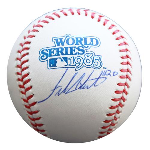 Photo of Autographed 1985 World Series Baseball: Frank White