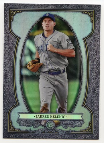 Photo of 2019 Bowman Chrome Bowman Sterling Continuity #BS14 Jarred Kelenic