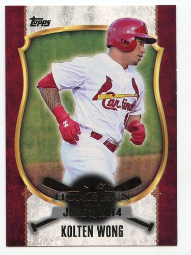 Photo of 2015 Topps Update First Home Run Silver #FHR27 Kolten Wong
