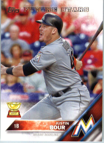 Photo of 2016 Topps #699 Justin Bour FS